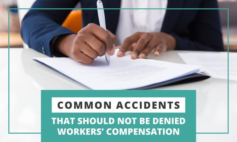 common accidents that should not be denied workers comp